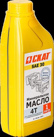 Масло 4-тактн. минеральное SAE30 1 л