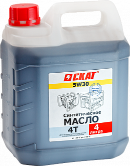 Масло 4-тактн. синтетическое SAE5W30 4 л