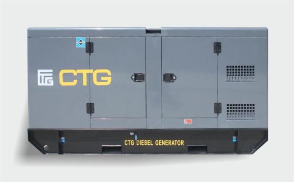 Дизель генератор CTG AD-150RE