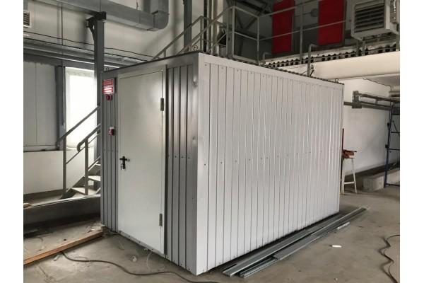 Производство контейнера для электростанции 80 кВт